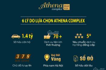 Bán căn hộ 1105 suất ngoại giao dự án chung cư Athena Complex Pháp Vân, giá rẻ hợn thị trường