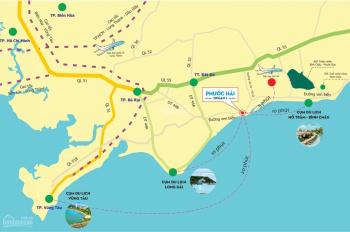 Cần sang lại 2 lô đất ngay mặt tiền đường Võ Văn Kiệt (Ven Biển) thích hợp xây nhà nghỉ khách sạn