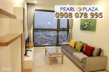Thuê ngay căn hộ 1PN Pearl Plaza, full nội thất đẹp chỉ 19 triệu/th. Hotline PKD SSG 0908 078 995