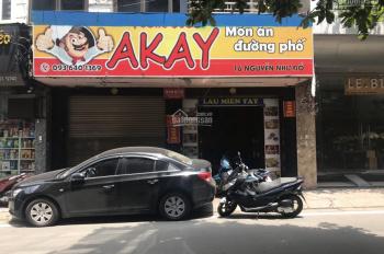 Cho thuê nhanh nhà mặt phố 16 Nguyễn Như Đổ 120m2 - mặt tiền 7m - giá 32tr/th - giao ngay