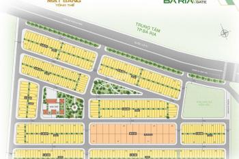 Bán lô đất nền mặt tiền thương mại dự án Bà Rịa City Gate - Bà Rịa