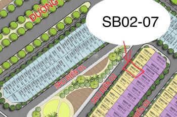 Chính chủ bán liền kề Sao Biển SB02 - 07, DT 90m2, view vườn hoa. LH: 0931234999