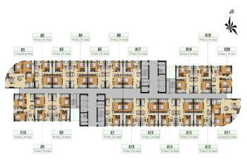Bán cắt lỗ CC 885 Tam Trinh - Gelexia Riverside, căn 1502, CT1, DT 76.16m2, giá 1,5 tỷ, 0984486179