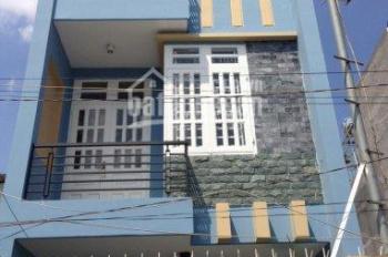 Cho thuê nhà, MT: Hoàng Hoa Thám, P7, Bình Thạnh. 4.3mx18m, 1 trệt, 3 tầng giá 35tr/th