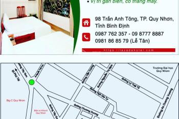 Cần cho thuê Khách sạn ven biển Quy Nhơn. LH 0987762357