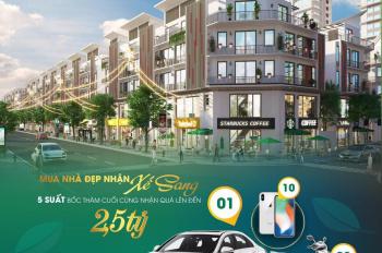 Bán shophouse liền kề phố Cổ, chiết khấu 10%, tặng Mercedes 1,5 tỷ cho 02 khách hàng sớm nhất