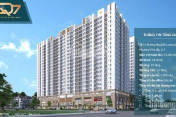 Căn hộ Phú Mỹ Hưng Quận 7 giá chỉ 2 tỷ/ căn, nhận nhà 2020 thanh toán 18 tháng 0 lãi suất