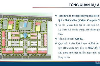 Hometel Kallias Tuy Hòa - Phú Yên, nơi nghỉ dưỡng du lịch đẳng cấp, nơi đầu tư lý tưởng. 0902693715