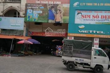 Bán kiốt 2 mặt tiền chợ tt thị trấn Gia Bình, Liên hệ : 0377516258