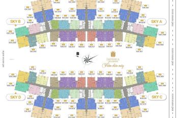 Duy nhất, chung cư Imperia Sky Garden 423 Minh Khai. Căn 3 PN, 98m2 giá 3,7 tỷ, liên hệ: 0352472691