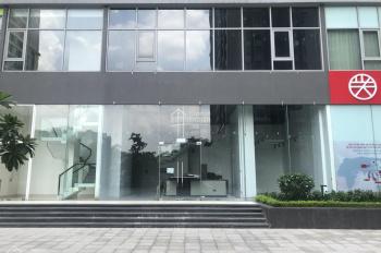 Cho thuê tầng 2 Shophouse tại tòa A3 Vinhomes Gardenia đường Hàm Nghi, Nam Từ Liêm, DT 105m2