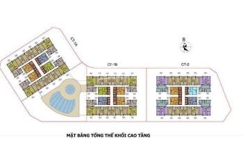 Bán rẻ 2 CHCC Hateco Apollo Xuân Phương, 1616 - CT1A 58,61m2 & 1919 69,83m2, 23tr/m2. O971 O85 383
