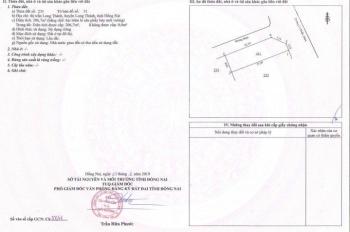 Bán lô đất MT Lê Duẩn huyện Long Thành, ngay chợ, trung tâm DT 100m2, giá 2 tỷ, LH Đại 0902668625
