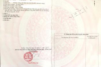 Dự án duy nhất đã có sổ đỏ tại Bà Rịa, giá từ 11tr/m2 công chứng trong ngày. LH: 0938720781 - Hoà