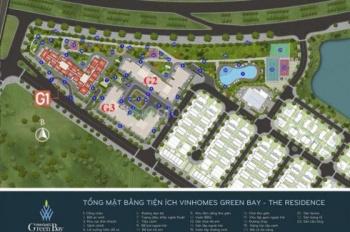 Tổng hợp các căn cần chuyển nhượng dự án Green Bay. Liên hệ 0962432084