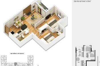 Bán suất ngoại giao căn hộ 54m2 Anland Nam Cường, 1.420 tỷ, ký trực tiếp CĐT, liên hệ: 0976974923