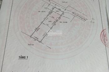 Bán nhà cấp 4, 3,8x14m, công nhận 54m2. Hẻm 2.3m, ba gác qua thoải mái, xe 4 chỗ vào cách nhà 1m