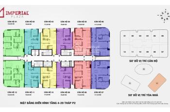 Cho thuê gấp căn hộ 2PN tòa IP2 chung cư 360 Giải Phóng giá chỉ 9 triệu