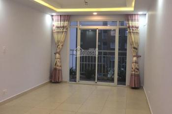 Cho thuê căn hộ 2PN 2WC nhà mới đẹp block C với giá 5.5tr/th, dự án Hạnh Phúc, 076.555.8358