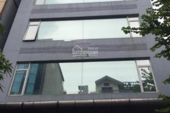 Cho thuê nhà 100m2 x 6T, MT 6m cực đẹp tại ngã tư Lạc Long Quân. LH 0974585078