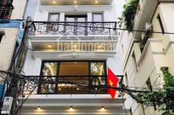 Cho thuê nhà mới đẹp mặt phố Hoa Bằng, Yên Hòa, Cầu Giấy. DT 85m2 x 4 tầng, giá 27tr/th