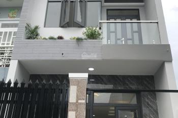 Nhà mới sổ hồng riêng 2 tầng, 2PN 4x14m, hẻm nhựa 5m, xách vali vào ở
