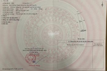 Cần bán 15m mặt tiền đường đá xanh xã Hựu Thạnh, huyện Đức Hòa, tỉnh Long An