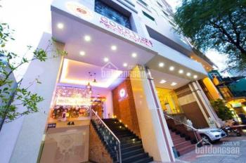 Cho thuê nhà nguyên căn MT Võ Thị Sáu Q1 có 16 căn hộ dịch vụ cao cấp DT 120m2 KC hầm 6 tầng