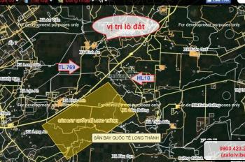 Bán 1000m2 đất trồng cây lâu năm, đã có sổ ngay Tỉnh Lộ 769 cửa ngõ vào SB Long Thành, 0903.423.229