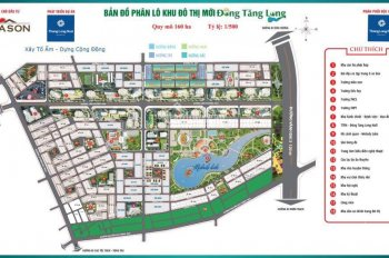 Mở bán GĐ1 biệt thự song lập - Thuộc khu đô thị mới Đông Tăng Long - Đã xây dựng như hình
