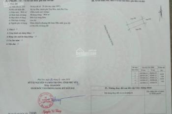 Bán đất Hùng Vương, Tuy Hoà, Phú Yên - Sổ đỏ - chính chủ. LH 0966382595