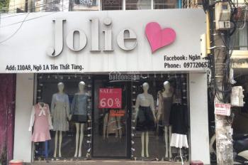 Nhượng cửa hàng thời trang 110A8 ngõ 1A Tôn Thất Tùng (khu lưu niệm A8)