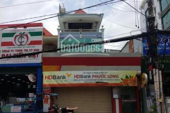 Cho thuê nhà mặt tiền đường Đỗ Xuân Hợp, Phường PLB, Q9, DT 7x24m, 1 trệt, 1 lầu, ST