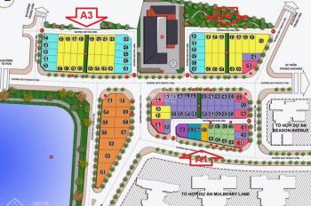 Cần bán gấp suất ngoại giao lô góc dự án Hoàng Thành Villas Mỗ Lao - 0985929291