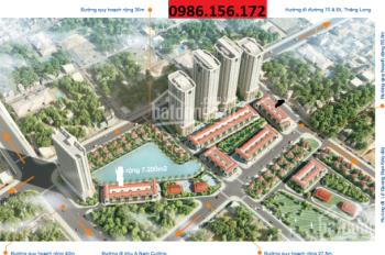 Chính chủ bán nhanh LK FLC Đại Mỗ mặt hồ và mặt đường 30m cạnh Aeon Mail giá rẻ nhất thị trường
