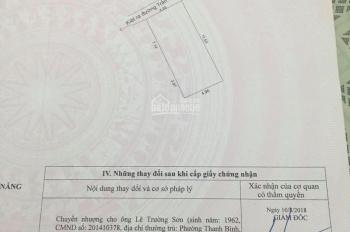 Đất kiệt 196 Trần Cao Vân giá rẻ cho nhà đầu tư