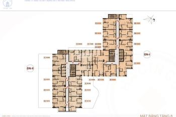 CC bán căn hộ 3PN + 2WC, diện tích 80m2 CC Hà Nội Center Point, căn góc, giá 36tr/m2, LH 0963996538