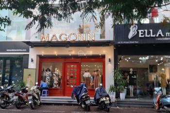 Cho thuê nhà mặt phố Hồ Tùng Mậu. DT 60m2 x 6 tầng, mặt tiền 5m, thông sàn có thang máy