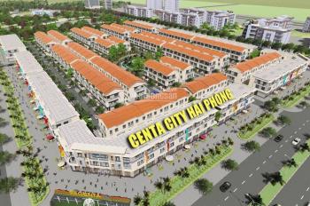 Centa City Hải Phòng liền kề, shophouse, giá vốn chỉ từ 1,5 tỷ, LH PKD CĐT Việt Nhân: 0819866636