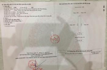 Bán đất ngay trong KDC Việt Sing mặt tiền NA5, DT 80m2 giá 1.2 tỷ sổ sẵn. LH 0934834858