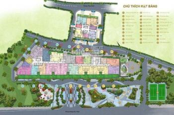 Bán căn 1PN thiết kế thành 2PN dự án Sun Grand City, Thụy Khuê, 58.36m2, chỉ 3,42 tỷ. LH 0988990450