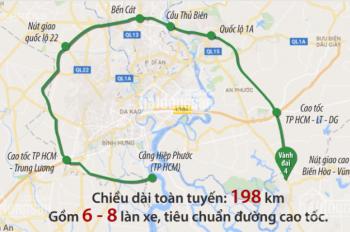 Đất nền khu 5A28 Mỹ Phước 4, mặt sau đường Vành Đai 4, gần đại học Việt Đức. Giá chỉ 950tr/100m2