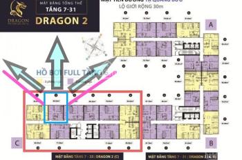 Cần bán căn hộ quận 8 với DT 60m2 cho 2PN dự án Topaz Elite Dragon 2 tổng giá 2tỷ055 LH 0909586958