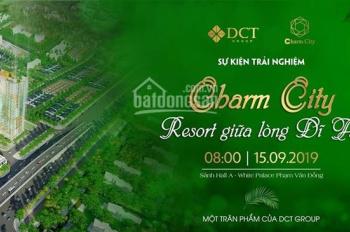 Căn hộ cao cấp Charm City, căn hộ được quan tâm nhất thị trường Bình Dương, 2 tầng đẹp nhất