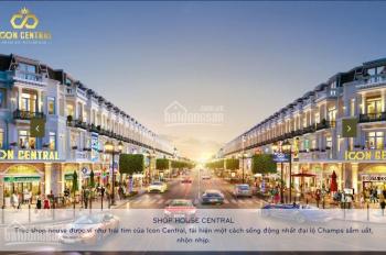 Bán đất nhà phố, shophouse dự án Icon Central, TX. Dĩ An, giá F1 cho giữ chỗ ưu tiên