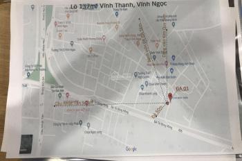 Chính chủ cần bán lô đất 137m2 trục chính thôn Vĩnh Thanh Vĩnh Ngọc giá 46tr/m2 LH:0981682290