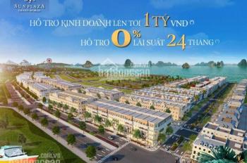 Shophouse mặt biển Bãi Cháy Hạ Long, mở bán căn 120m2 cạnh quảng trường Vip nhất dự án chỉ từ 11 tỷ