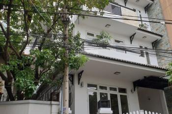 Cho thuê nhà mặt phố đường 20, P.Bình An: 8x16m, hầm, 5 lầu, sàn suốt giá 95 tr/th. Tín 0983960579