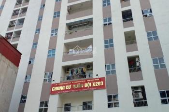 Cho thuê mặt bằng kinh doanh, văn phòng đại diện tại chung cư quân đội X203 Lĩnh Nam, Hoàng Mai