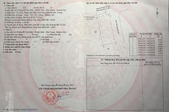 Chính chủ cần bán nhà 2 mặt tiền đường Vân Đồn, sổ hồng chính chủ, LH 0339928879